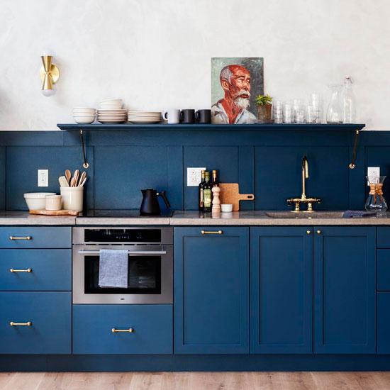 cuisine-bleue-doré-hotel-lokal-for-interieur-parlonsmaisons