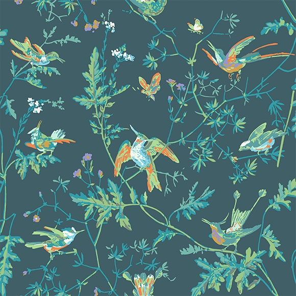 hummingbirds-papier-peint-cole-and-son-parlonsmaisons