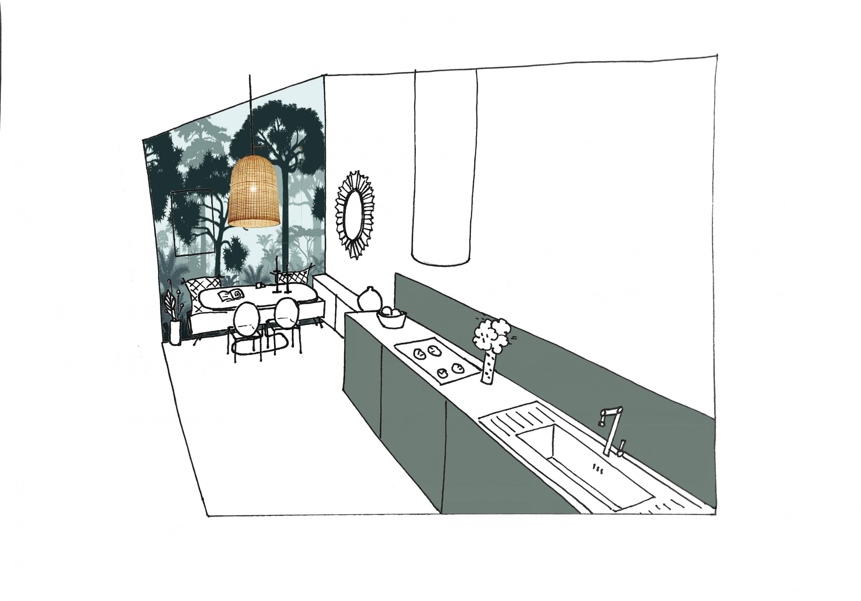 cuisine-surplan-verte-parlonsmaisons