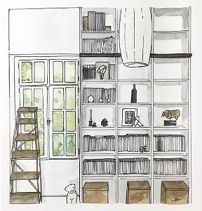 bibliothèque les ormes parlons maisons
